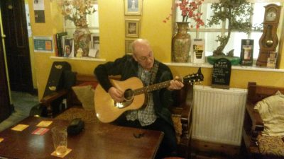 Graham playing at the Kelham Island Tavern, Sheffield