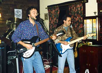 The first Great Unshaven gig at Hunton, Kent