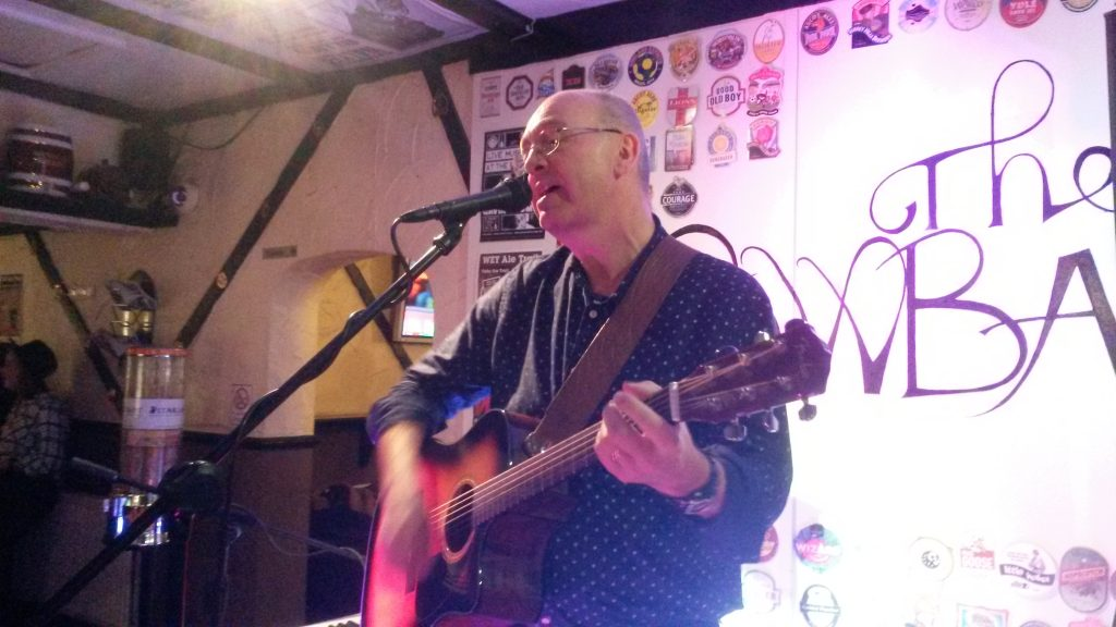 Graham Armfield at Vic's Buskers, March 1st 2016